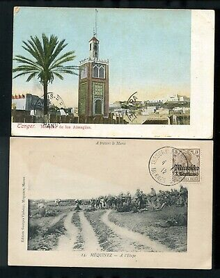 Morocco French German 1906/1911 Tangier Meknes