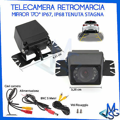 170° Telecamera Retromarcia Retrocamera Impermeabile Night Vision Auto Camera It