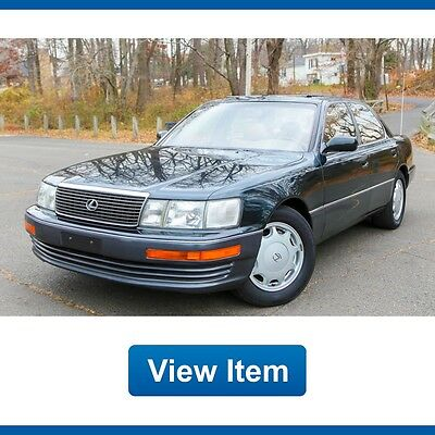 1994 Lexus LS Base Sedan 4-Door 1994 Lexus LS 400 LS400 Super Low 32K miles Loaded V8 California CARFAX garaged!