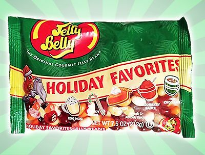 Jelly Belly Holiday Favorites Jelly Beans Christmas Candy Cane Pumpkin Pie 7.5OZ
