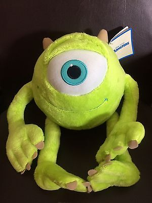 "12"" Disney / Pixar Monsters Inc. Mike Wazowski Plush Soft Toy"
