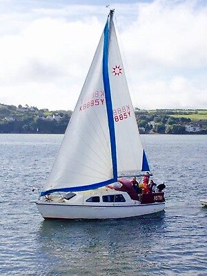 sandpiper sunflair 27 yacht / sailing boat