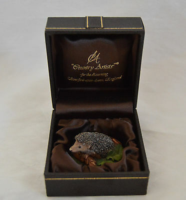 Country Artists 1990 Miniature Hedgehog Boxed VGC
