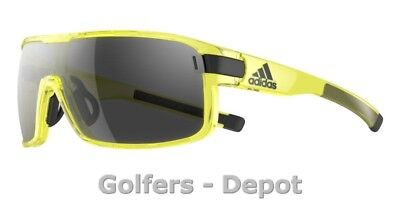 Adidas Brille ad03 ZONYK L yellow transparent shiny 6054