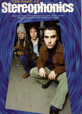 Stereophonics -- music book