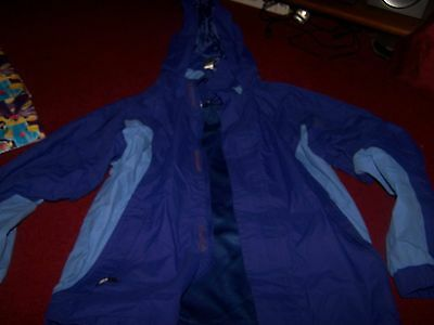 girls age 11 to 12 outdoors jacket purple