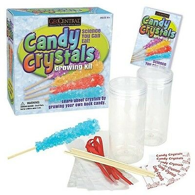 Rock Candy Crystals Growing Kit - Edible Science