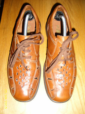Mens ROHDE brown shoes uk size 8