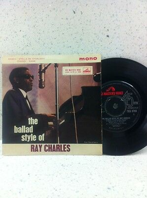 Ray Charles The Ballad Style Of Vinyl Ep