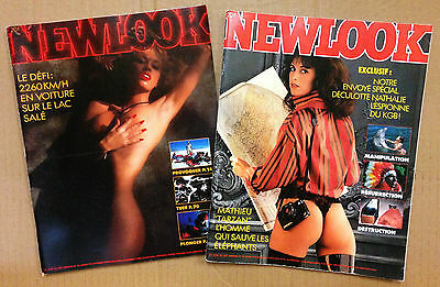 Newlook - Lot 2 N°32 Et 33 - 1986 - Tbe
