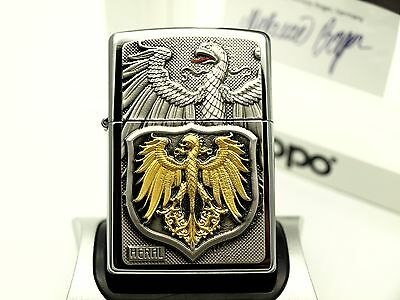 Zippo Lighter Limited Edition HERAL ARCO PHOENIX Ltd Heraldry ZIPPOS CASE
