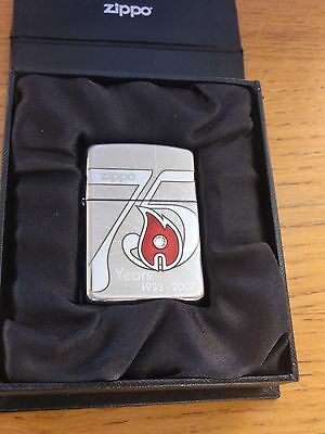 Zippo 75 anniversary limited edition France 1/500. In box.