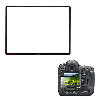 LARMOR GGS Self-Adhesive Optical Glass LCD Screen Protector for Nikon D4S