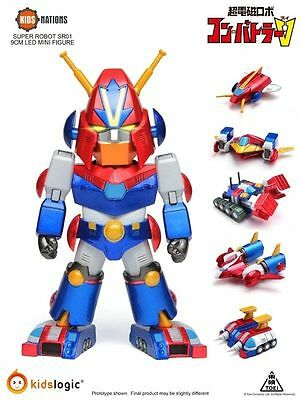 Kids Logics Super Robot SR01 - Combattler V Led Mini Figure Kids Nations