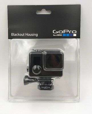 New Gopro Blackout Housing Ahbsh-001 For Hero3 And Hero3+ Cameras