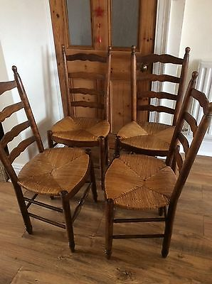 Antique French Dining Chairs x4
