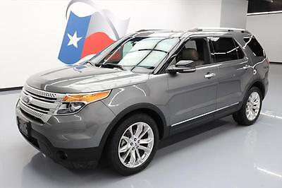 2013 Ford Explorer  2013 FORD EXPLORER XLT HTD LEATHER NAV 3RD ROW 20'S 71K #A50057 Texas Direct