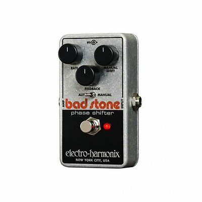 Electro Harmonix Bad Stone Analog Phase Shifter Effects Pedal for Guitar