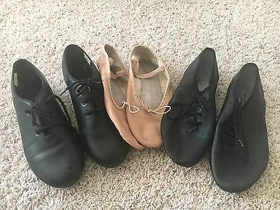 Dance Revolution Shoes ( Ballet, Jazz and Tap Shoes ) Size 8