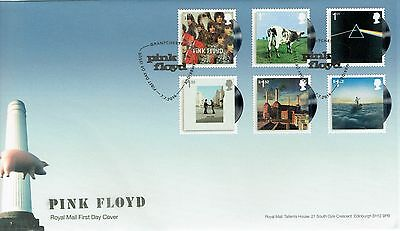 GB Stamps 2016 Pink Floyd Royal Mail FDC