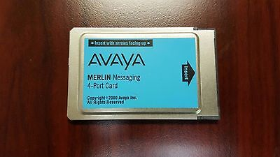 Avaya 4 Port Voicemail Messaging Card for Merlin Magix Phone System