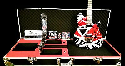 EVH WOLFGANG Electric Guitar w/ Striped graphics, flight case and upgrades