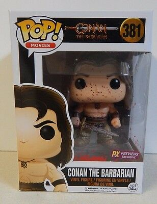 Funko POP! Movies Conan the Barbarian #381 Bloody Previews PX Exclusive MIB!!!