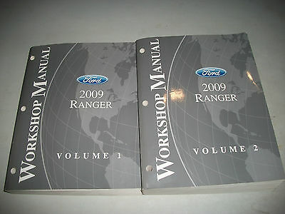 2009 Ford Ranger Workshop Manual Set Very Nice Clean Cmystore4More