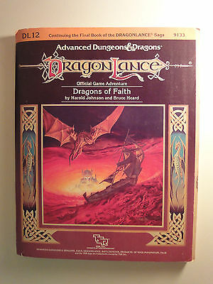 Advanced Dungeons and Dragons,Module Dragonlance DL12 Dragons of Faith