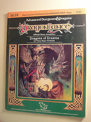 Advanced Dungeons and Dragons, Module Dragonlance DL10 Dragons of Dreams