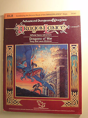 Advanced Dungeons and Dragons, Module Dragonlance DL8 Dragons of War