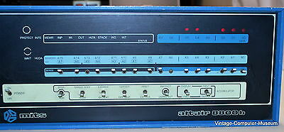 Rare MITS Altair 8800b with front panel switches (Will Ship WorldWide)