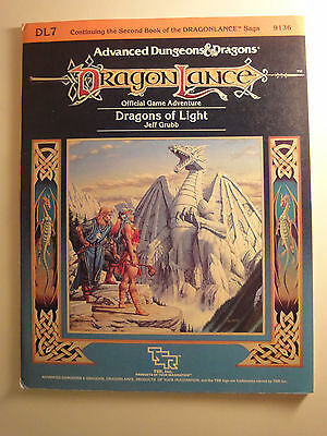 Advanced Dungeons and Dragons, Module Dragonlance DL7 Dragons of Light