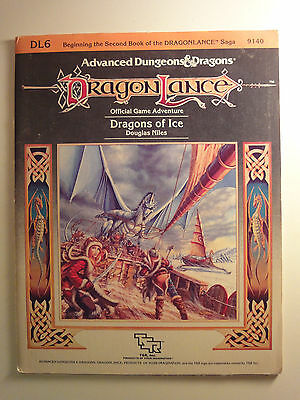 Advanced Dungeons and Dragons, Module Dragonlance DL6 Dragons of Ice