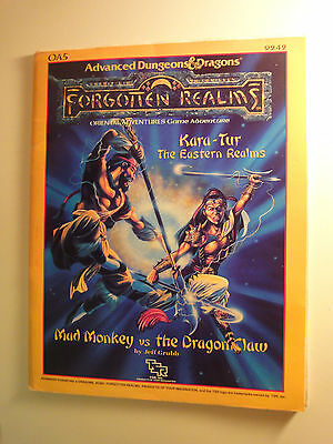 Advanced Dungeons and Dragons,Forgotten Realms,Oriental Adventures Module OA5
