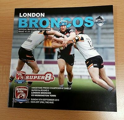 London Broncos v Workington Town 2015