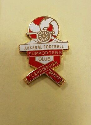 Arsenal FC Scandanavian Supporters Branch Badge