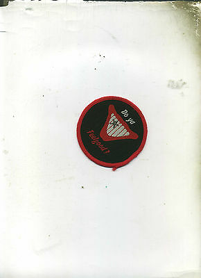 Dr Feelgood - Rare Unused Vintage Round Patch