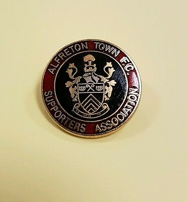 Alfreton Town Supporters Association Badge
