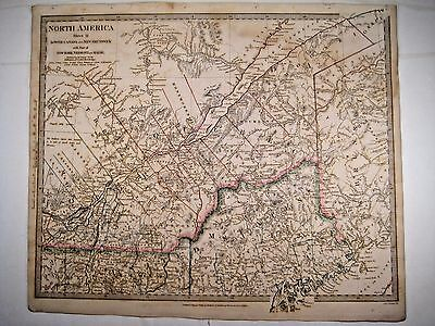 1832 SDUK: Map of Quebec, New Brunswick, Lower Canada (North America II)