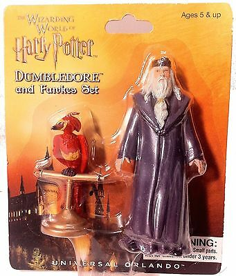 Wizarding World of Harry Potter : Dumbledore and Fawkes Figure Set