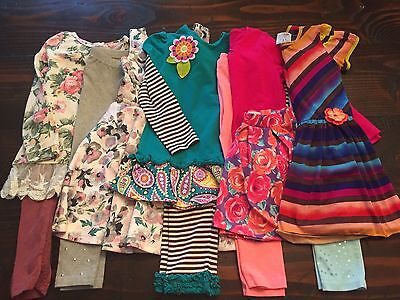Girls Size 5/6 Clothes Lot Flower Lover School Clothes Excellent Beautiful