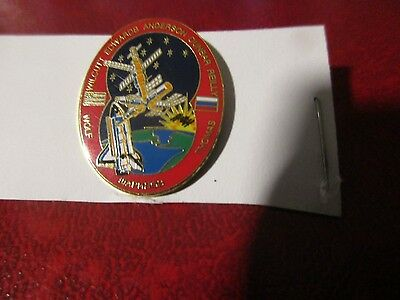 NASA Pin - Shuttle Mission to ISS