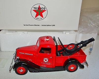 1936 Ford Texaco Wrecker 405500 Truck Eastwood Automobilia Solido Diecast Toy