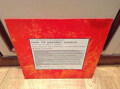 Coil – How To Destroy Angels -  Vinyl, L.A.Y.L.A.H. Antirecords 1988