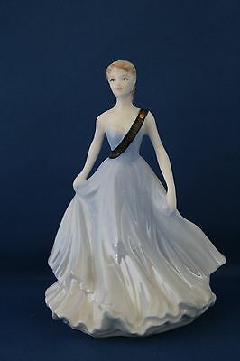 "Retired 1993 Debutante Of The Year Coalport Figure ""royal Caledonian Ball"""