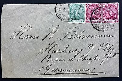 Cape Of Good Hope Cover To Germany 1901 South Africa