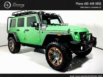 2016 Jeep Wrangler  Fully Custom Celebrity Build Only 300 Miles 1 of 1