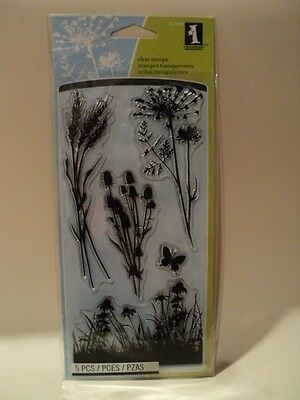 Inkadinkado Clear Stamps - Meadow Bnip *look*