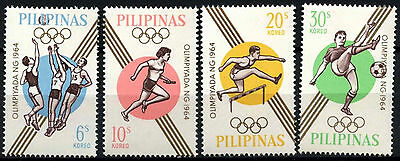 South Korea 1964 SG#977-980 Olympic Games MNH Set #D39658
